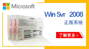 正版Windows server 2008