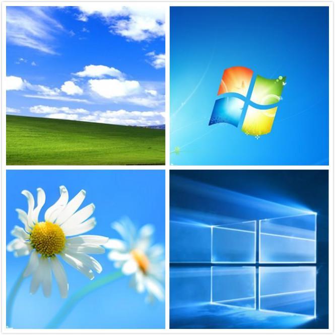 那些年熟悉的windows默认壁纸