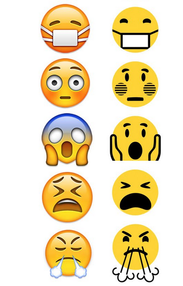 图片和微软win10的Emoji苹果大比拼QQ表情包表情的如何收藏删除图片