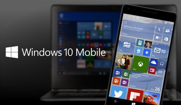 微软向WP 8.1推送Win10 Mobile系统