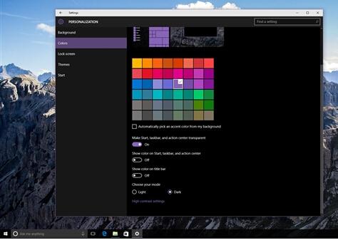 Edge浏览器Windows 10暗黑主题图赏