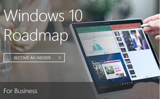 微软公布Win10路线图