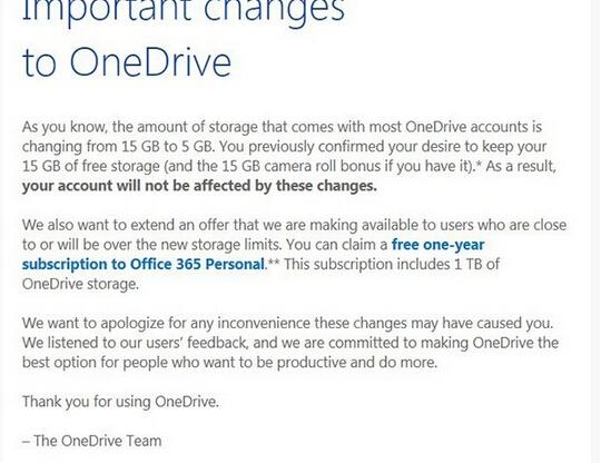 Office 365免费用一年