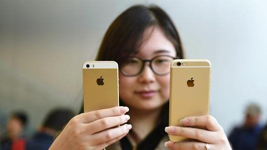 中国手机厂商发力,苹果iPhone销量惨剧