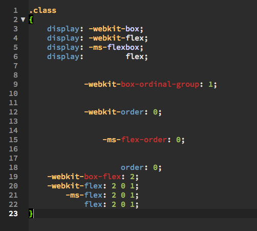 WebKit将不再使用非标准CSS属性前缀