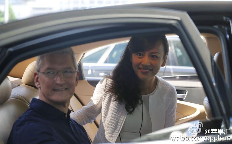 滴滴柳青主持 苹果 CEO 库克第八次访华与中国开发者代表座谈