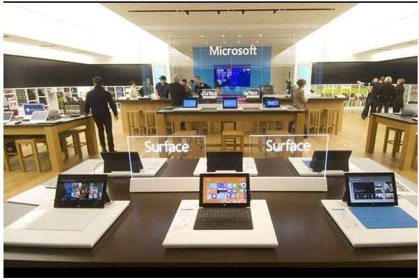微软零售店意义何在?_正版软件商城聚元亨