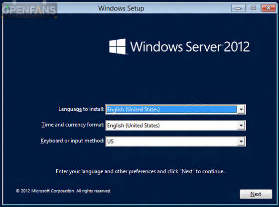 Windows server 2012 R2 标准版