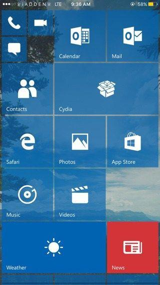 Redstone: 可让iPhone秒变Windows Phone