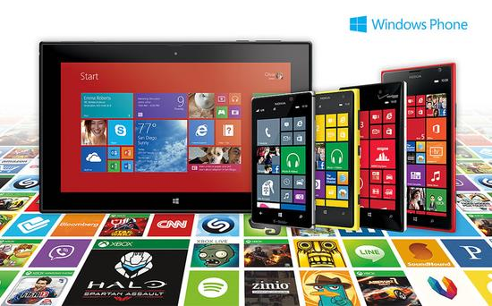 WindowsPhone市场占比再度下降-正版软件商城聚元亨