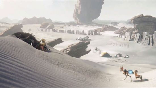 宏大的游戏场景