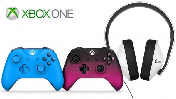 微软将推出新款Xbox One手柄及特别版耳机