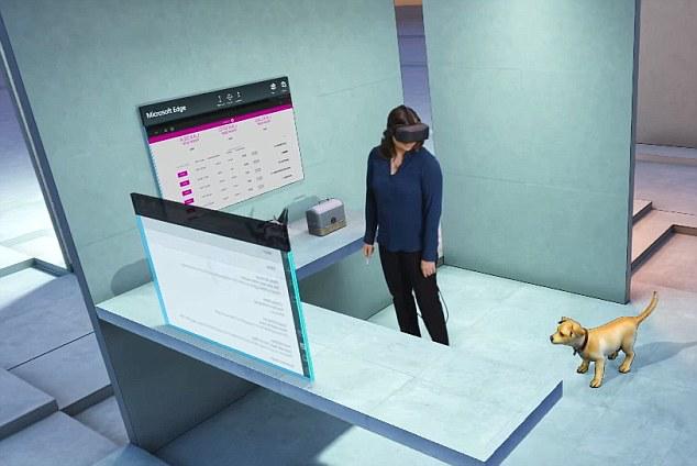 微软2017发布Win10全息界面 带你进入虚拟世界