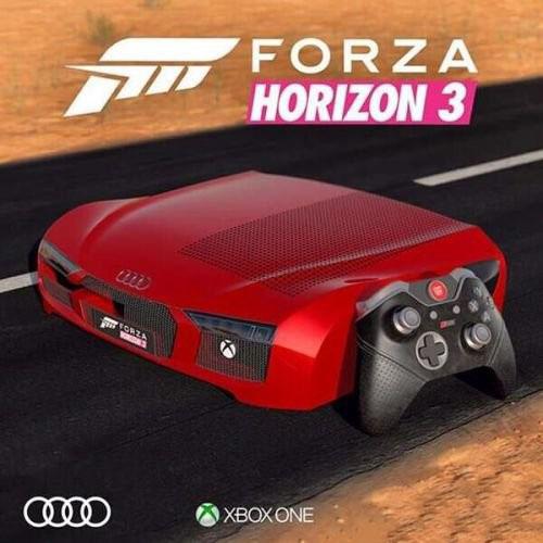 微软推出奥迪R8定制版Xbox One主机-正版软件商城聚元亨