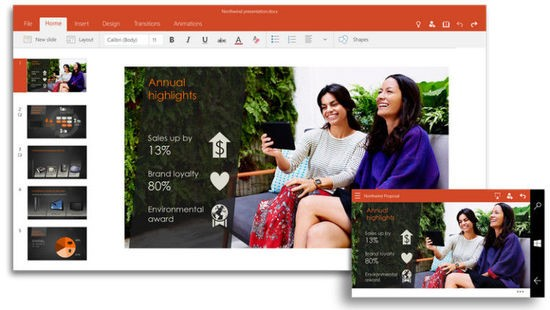 Windows 10 Office 通用应用预览版免费提供使用-正版软件商城聚元亨