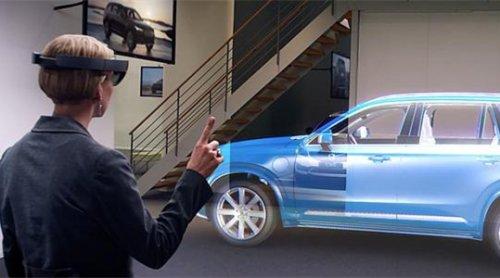微软HoloLens新用途:Volvo由于汽车研发-正版软件商城聚元亨