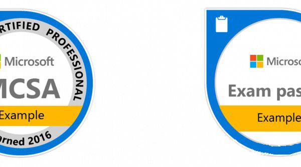 微软联合Acclaim推出微软独家认证的数字徽章-正版软件商城聚元亨