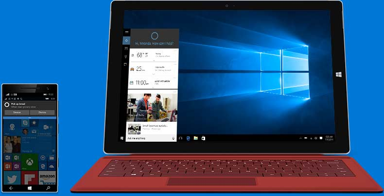 微软小娜--正版Win10多少钱?微软官方报价