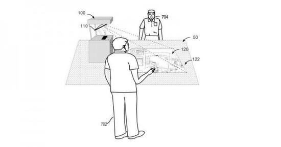 微软新专利:可投影的Surface桌面