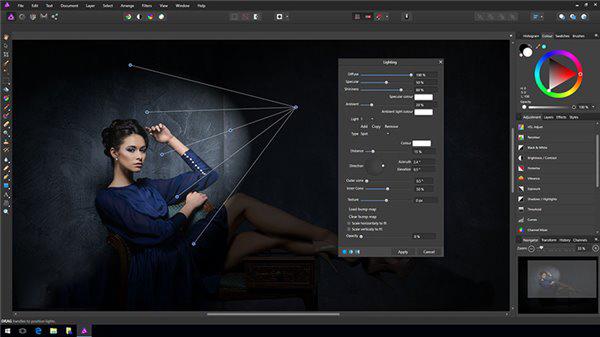 专业修图《Affinity Photo》推出Win7/Win10版下载