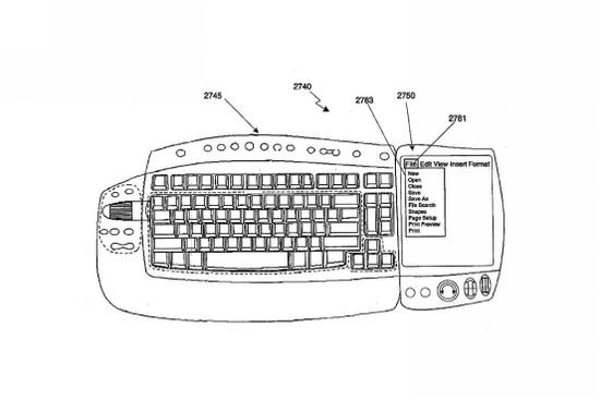 微软新专利:键盘将用上压感触控屏-正版软件商城聚元亨