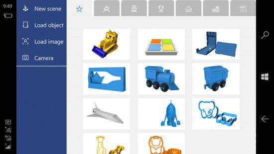 微软提供免费APP让Windows手机用户创建并打印3D物体