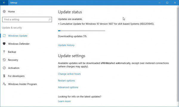 微软发布win10累计更新kb3201845-正版软件商城聚元亨