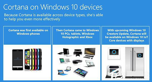 微软小娜即将登陆Win10 loT系统