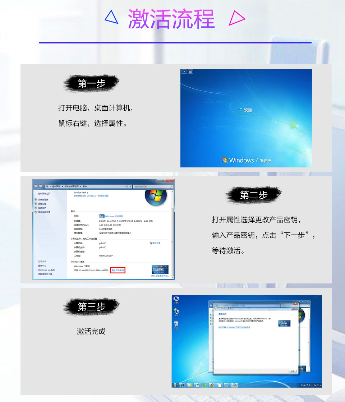 windows7激活软件_正版Windows7 激活码